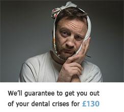 Emergency Services Sutton - Man in a teeth pain
