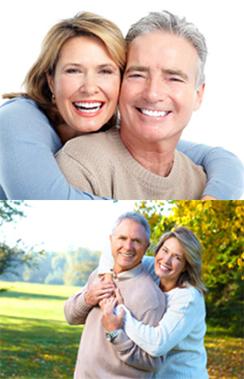 Dentures Sutton - Happy old couple
