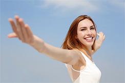 Nervous Patients Sutton - Happy woman