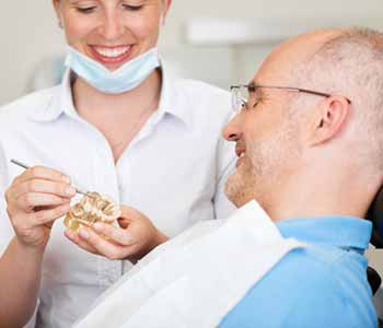 The first step to sedation dentistry involves a consultation with the dentist